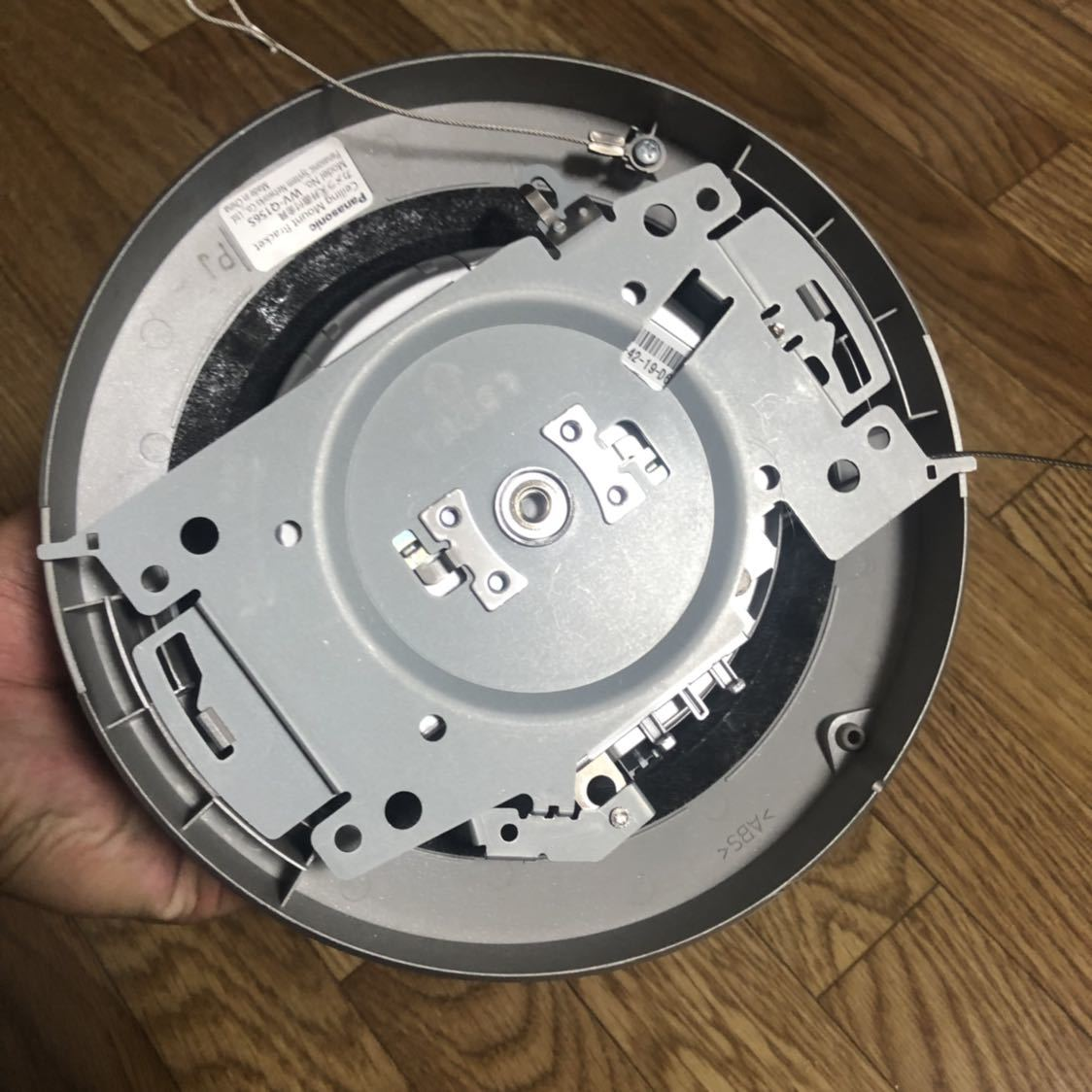 【中古品】Panasonic 屋内ネットワークカメラBB-SC382 HCM580 防犯カメラ 遠隔_画像6