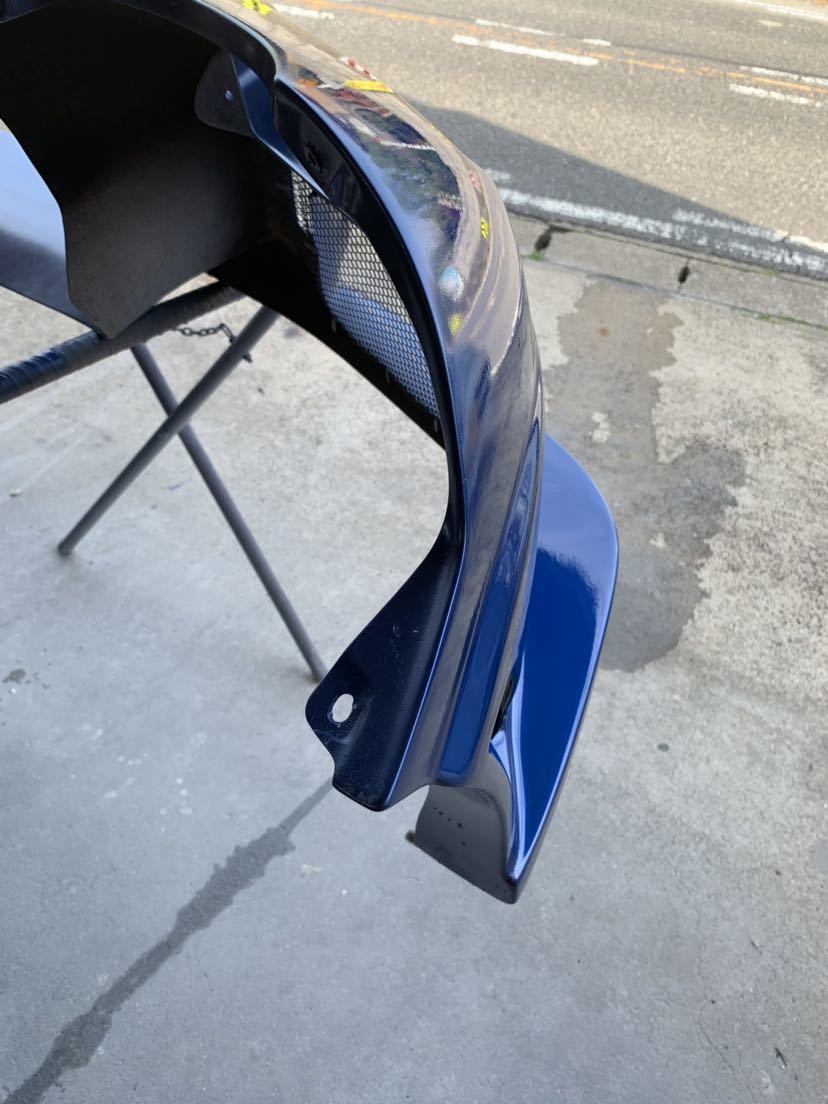 塗装屋なので無料色変えok RX7 c-west N1 フロントバンパー2 新品だと約10万 程度良 シーウエスト マツダ RX-7 FD3S FD3S N1 最終型 セブン_画像9