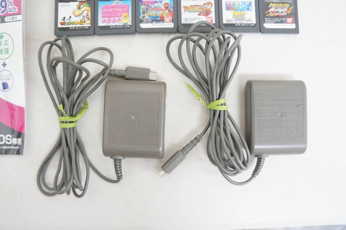ニンテンドー 3DS DSi DS Lite DS ゲームボーイ ゲームボーイアドバンスSP 本体 充電器 ソフト 大量 まとめて ゲーム機 B_画像5
