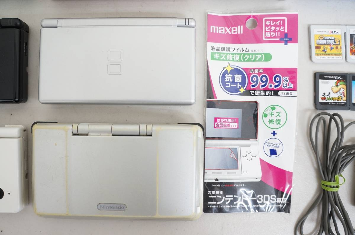 ニンテンドー 3DS DSi DS Lite DS ゲームボーイ ゲームボーイアドバンスSP 本体 充電器 ソフト 大量 まとめて ゲーム機 B_画像6