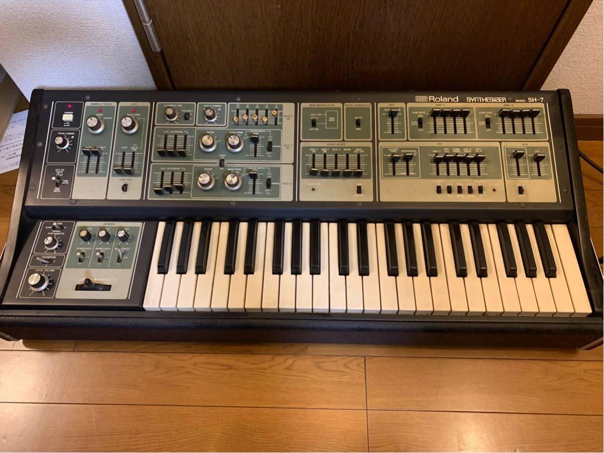Roland synthesizer SH-7 ローランド シンセサイザー