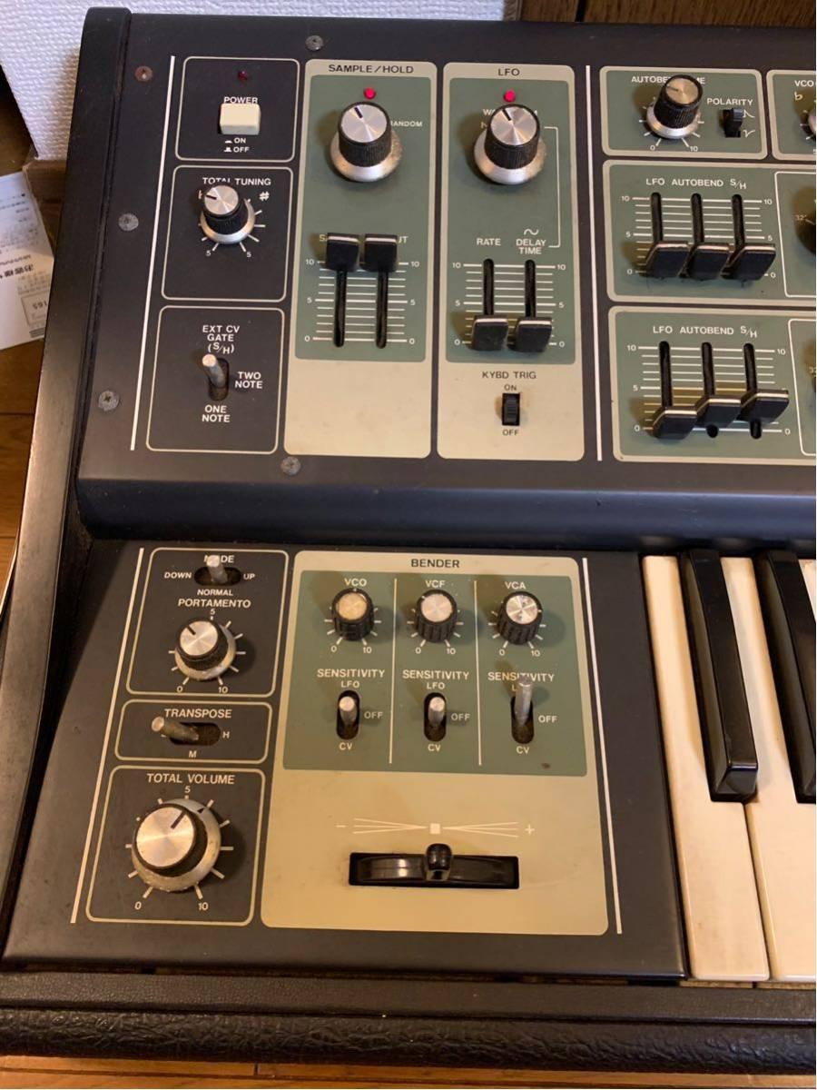 Roland synthesizer SH-7 ローランド シンセサイザー_画像2