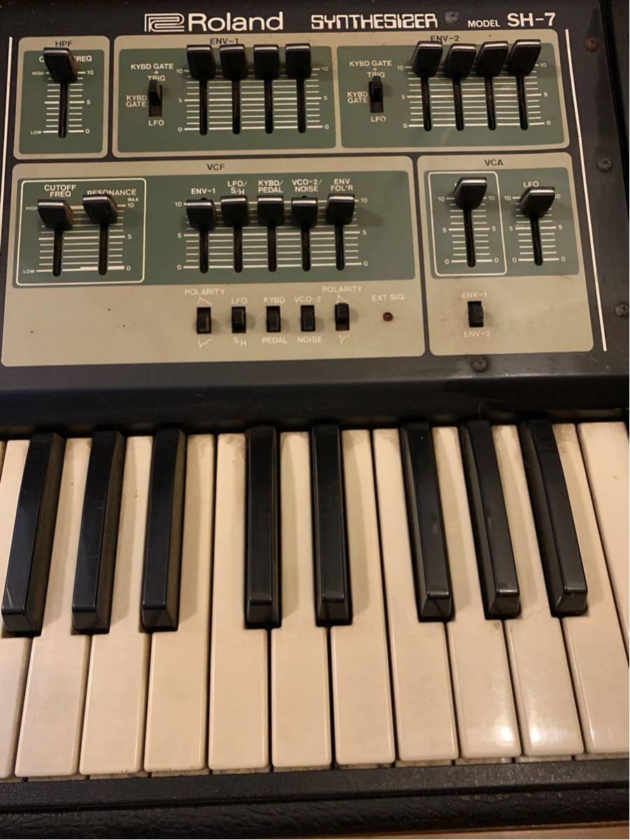 Roland synthesizer SH-7 ローランド シンセサイザー_画像4