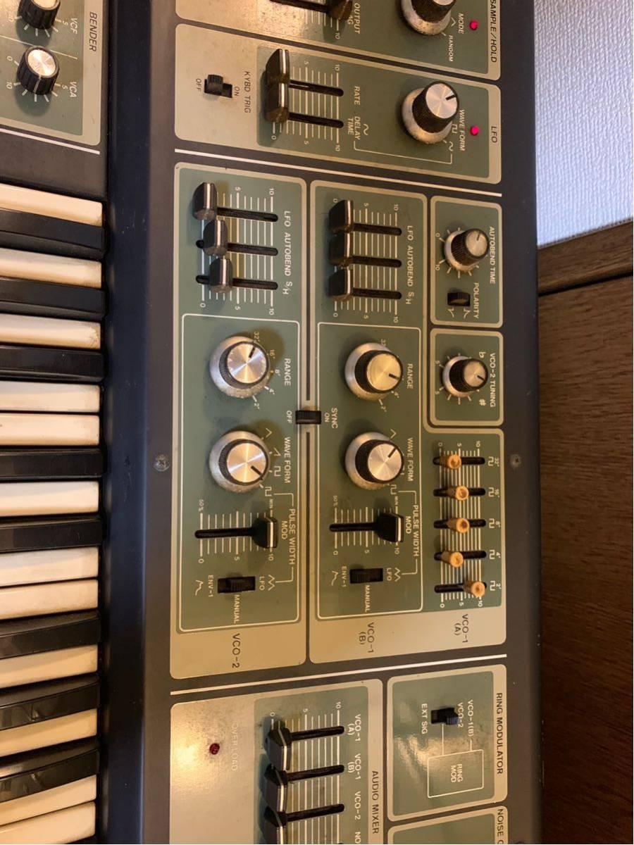 Roland synthesizer SH-7 ローランド シンセサイザー_画像10