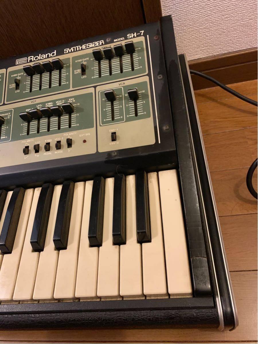 Roland synthesizer SH-7 ローランド シンセサイザー_画像5