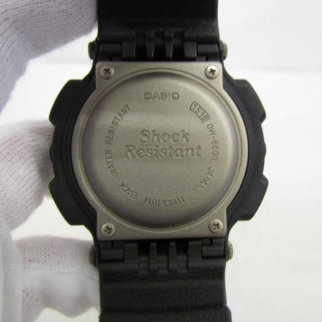 中古 G-SHOCK ジーショック CASIO カシオ 腕時計 DW-8600-1V イルミネーター デジタル クォーツ ラウンドフェイス 海外モデル RY1557_画像5