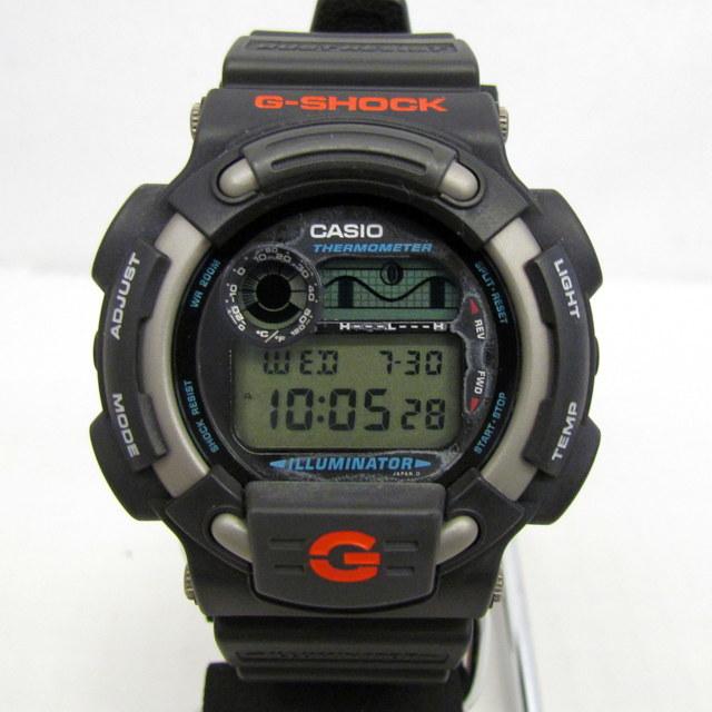 中古 G-SHOCK ジーショック CASIO カシオ 腕時計 DW-8600-1V イルミネーター デジタル クォーツ ラウンドフェイス 海外モデル RY1557_画像1