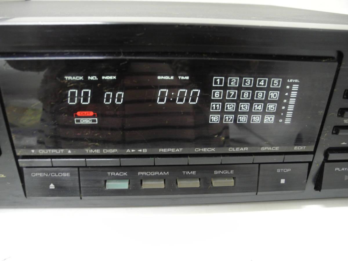 (77)☆KEN WOOD☆CDプレーヤー DP-8010 電源確認済み 中古品♪_画像3