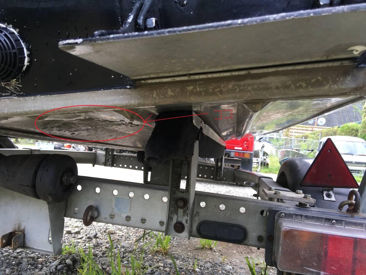 DURO BOAT デュロボート 14フィート ステアリング仕様 奈良県 _画像10