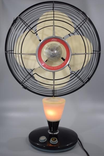 動確 東京芝浦電気 東芝 ライト付き 扇風機 夕顔 昭和30年代 TOSHIBA レトロ アンティーク ビンテージ ランプ 照明 K-82