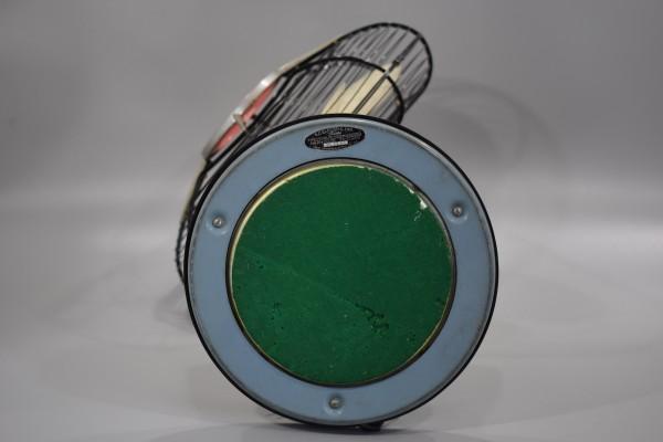 動確 東京芝浦電気 東芝 ライト付き 扇風機 夕顔 昭和30年代 TOSHIBA レトロ アンティーク ビンテージ ランプ 照明 K-82_画像8