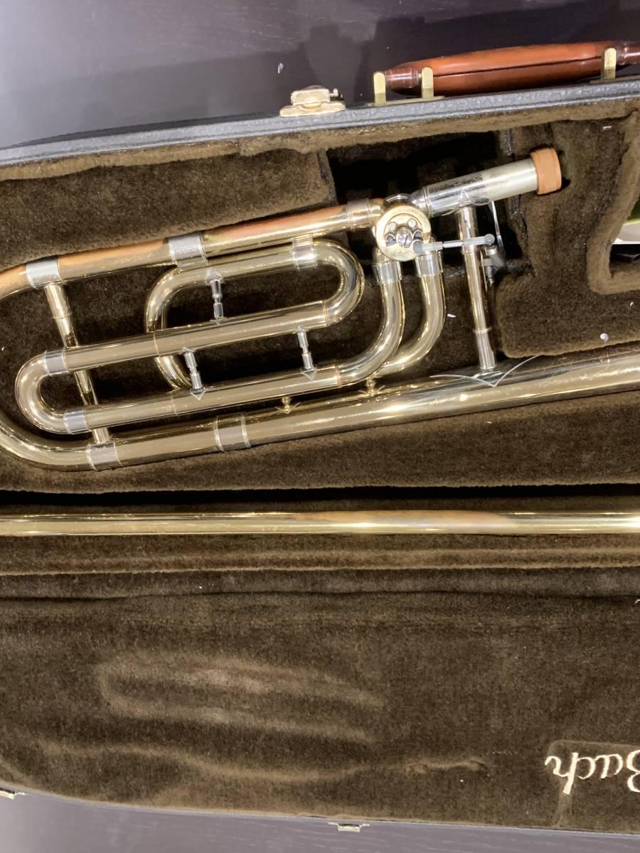 Bach USA テナーバストロンボーン バック