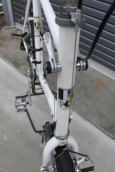 【使用少:キレイ!】BRUNO(ブルーノ) MINIVELO(ミニベロ) 20 ROAD DROP 2×8S ワイヤー類、バーテープ、ブレーキレバー等新品交換済み _画像7