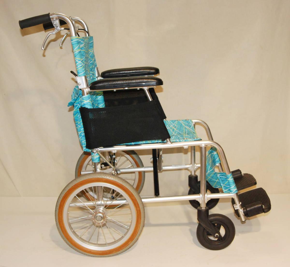 日進医療器 Nissin 車椅子 NAH-L7F 介護式 超軽量型 アルミ製超軽量型介護型車イス 車いす アルミ製_画像7