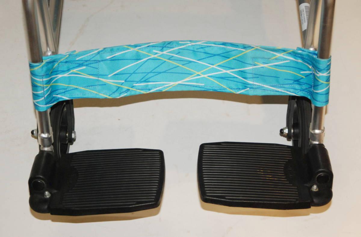 日進医療器 Nissin 車椅子 NAH-L7F 介護式 超軽量型 アルミ製超軽量型介護型車イス 車いす アルミ製_画像6