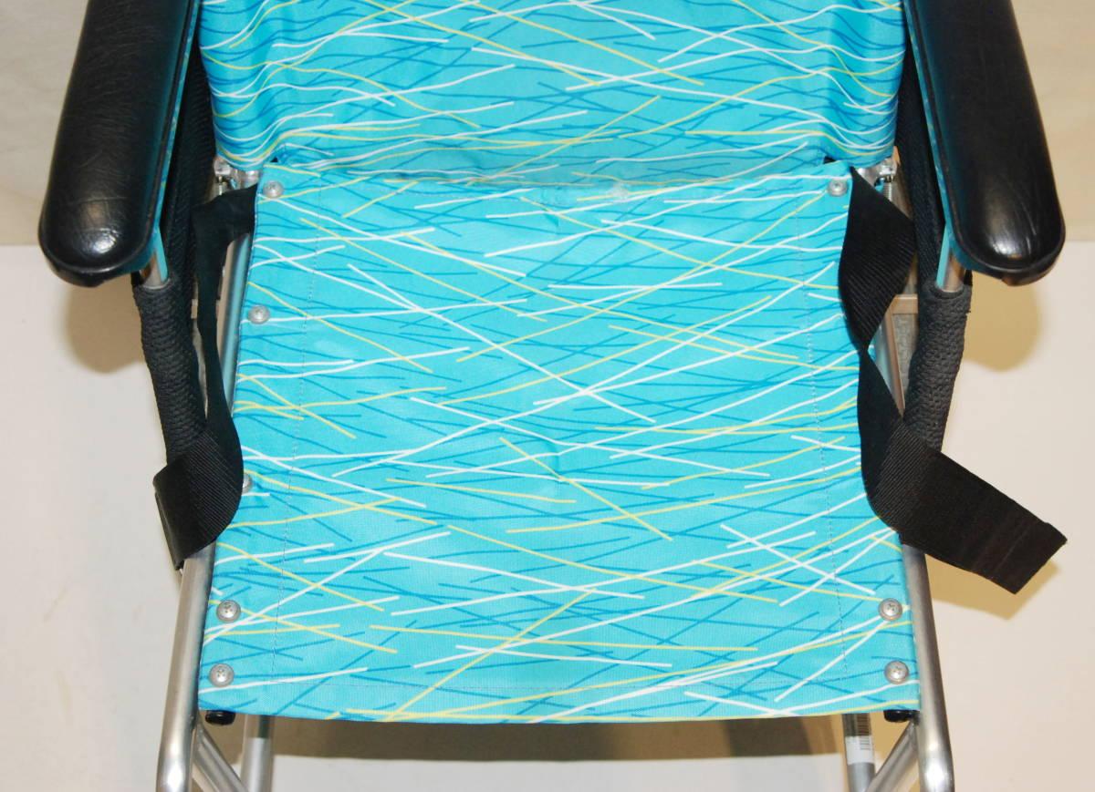日進医療器 Nissin 車椅子 NAH-L7F 介護式 超軽量型 アルミ製超軽量型介護型車イス 車いす アルミ製_画像5
