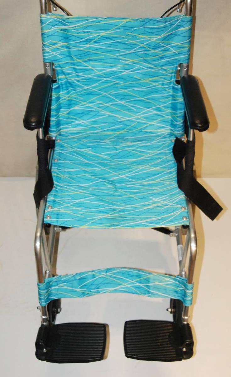 日進医療器 Nissin 車椅子 NAH-L7F 介護式 超軽量型 アルミ製超軽量型介護型車イス 車いす アルミ製_画像3