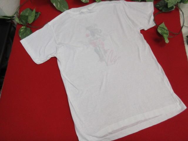 オ50 PUMA プーマ メンズ 半袖Tシャツ Lサイズ・ホワイト_画像3