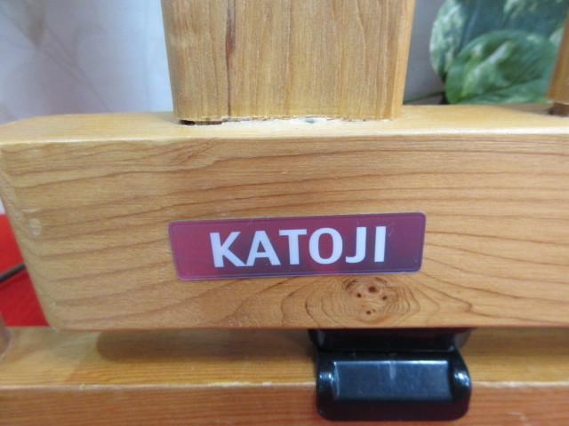 16オ63 木製 KATOJI( カトージ ) キッズゲート ベビーフェンス H75cm 71.5cm×2.5cm/240_画像2
