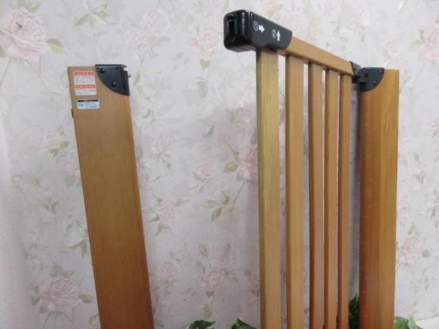 16オ63 木製 KATOJI( カトージ ) キッズゲート ベビーフェンス H75cm 71.5cm×2.5cm/240_画像5