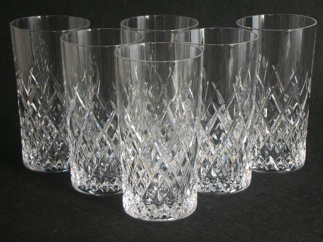 ◎HOYA CRYSTAL 切子 カット タンブラーグラス6客セット 保谷 クリスタル カットが美しいタンブラーグラス
