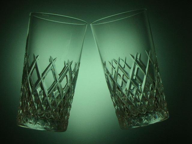 ◎HOYA CRYSTAL 切子 カット タンブラーグラス6客セット 保谷 クリスタル カットが美しいタンブラーグラス_画像3