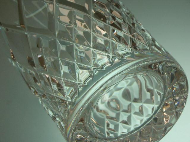 ◎HOYA CRYSTAL 切子 カット タンブラーグラス6客セット 保谷 クリスタル カットが美しいタンブラーグラス_画像5