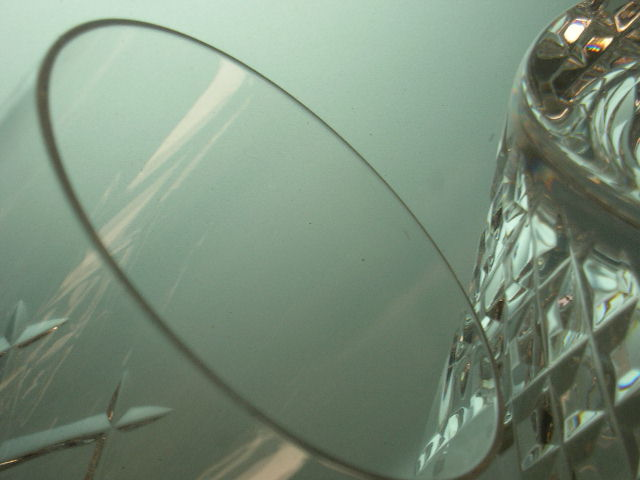 ◎HOYA CRYSTAL 切子 カット タンブラーグラス6客セット 保谷 クリスタル カットが美しいタンブラーグラス_画像8