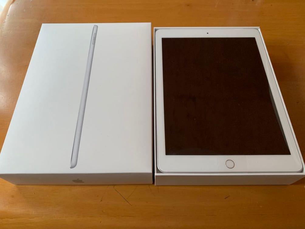 iPad 第6世代 Wi-Fi Cellular simフリー シルバー 32GB