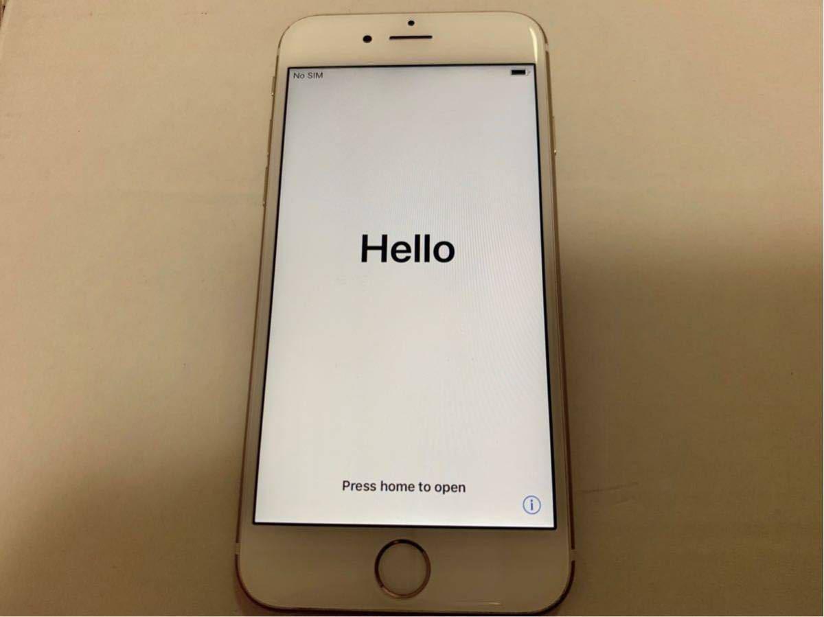 Apple iPhone6s docomo ゴールド 128GB バッテリー82%_画像2