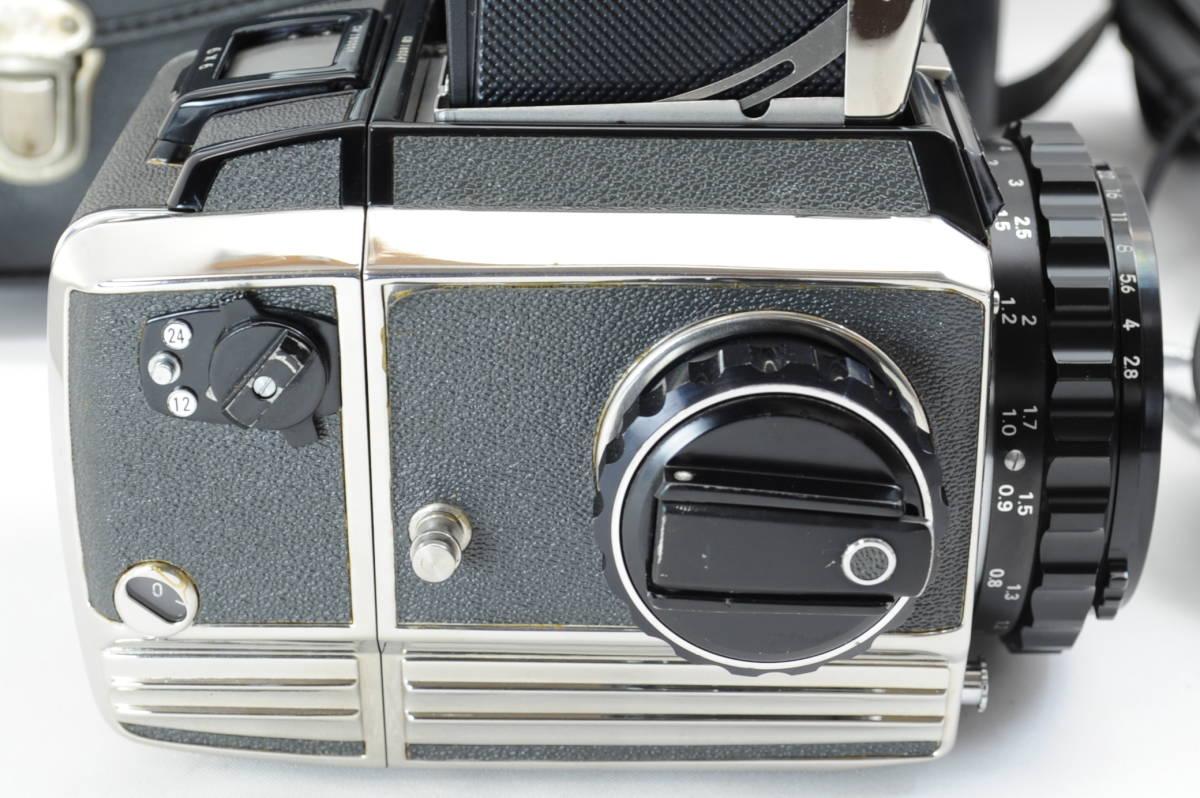 【ecoま】ゼンザブロニカ ZENZA BRONICA S2 NIKKOR-P・C 75mm F2.8セット 動作品 中判カメラ_画像6