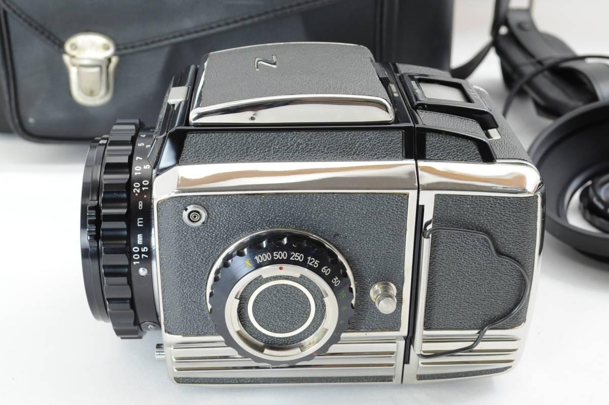 【ecoま】ゼンザブロニカ ZENZA BRONICA S2 NIKKOR-P・C 75mm F2.8セット 動作品 中判カメラ_画像4