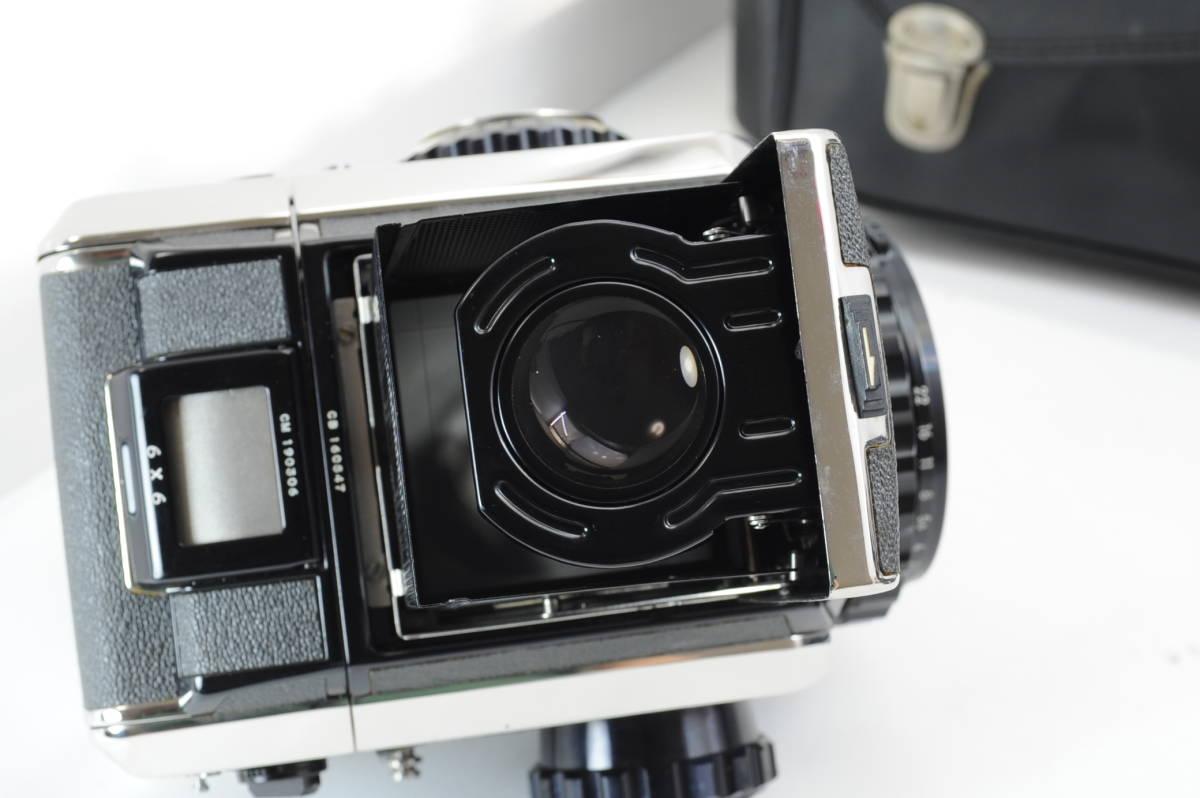 【ecoま】ゼンザブロニカ ZENZA BRONICA S2 NIKKOR-P・C 75mm F2.8セット 動作品 中判カメラ_画像7