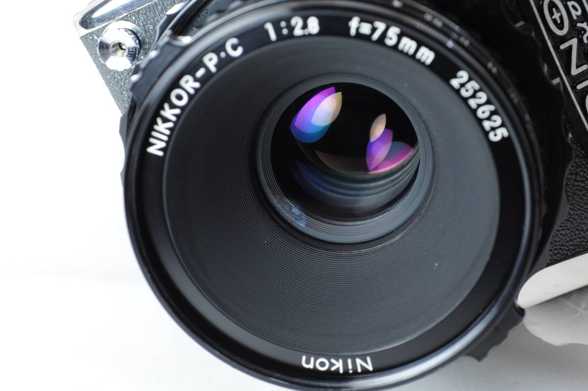 【ecoま】ゼンザブロニカ ZENZA BRONICA S2 NIKKOR-P・C 75mm F2.8セット 動作品 中判カメラ_画像10