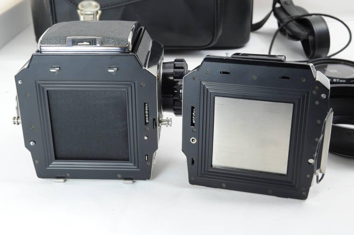 【ecoま】ゼンザブロニカ ZENZA BRONICA S2 NIKKOR-P・C 75mm F2.8セット 動作品 中判カメラ_画像9