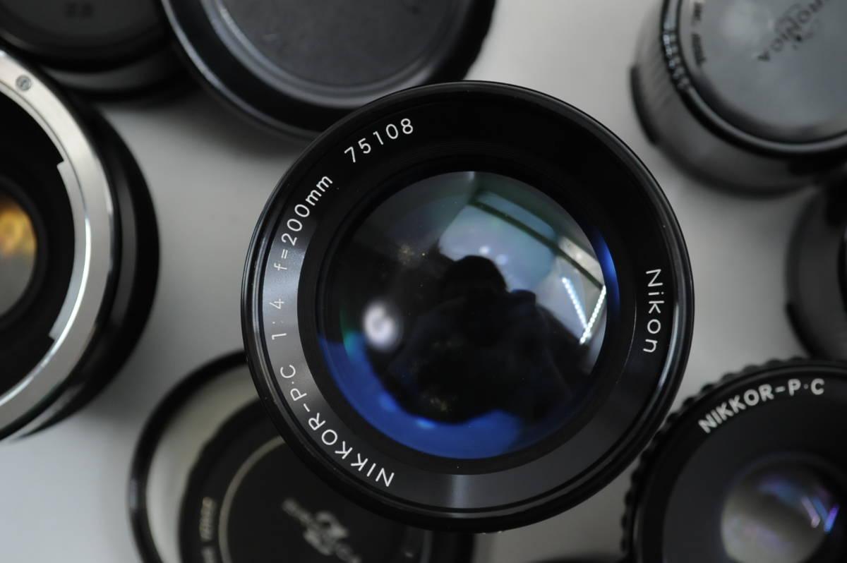 【ecoま】ブロニカ BRONICA EC 40mmF4/75mmF2.8/200mmF4/中間リング・ハードケースセット 中判カメラ_画像5