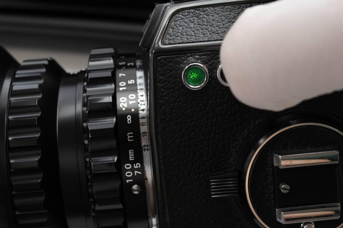 【ecoま】ブロニカ BRONICA EC 40mmF4/75mmF2.8/200mmF4/中間リング・ハードケースセット 中判カメラ_画像9