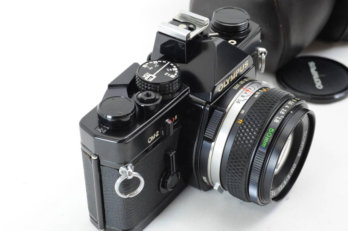 【ecoま】オリンパス OLYMPUS OM-2 50mm F1.8レンズ付 ブラック フィルムカメラ_画像3