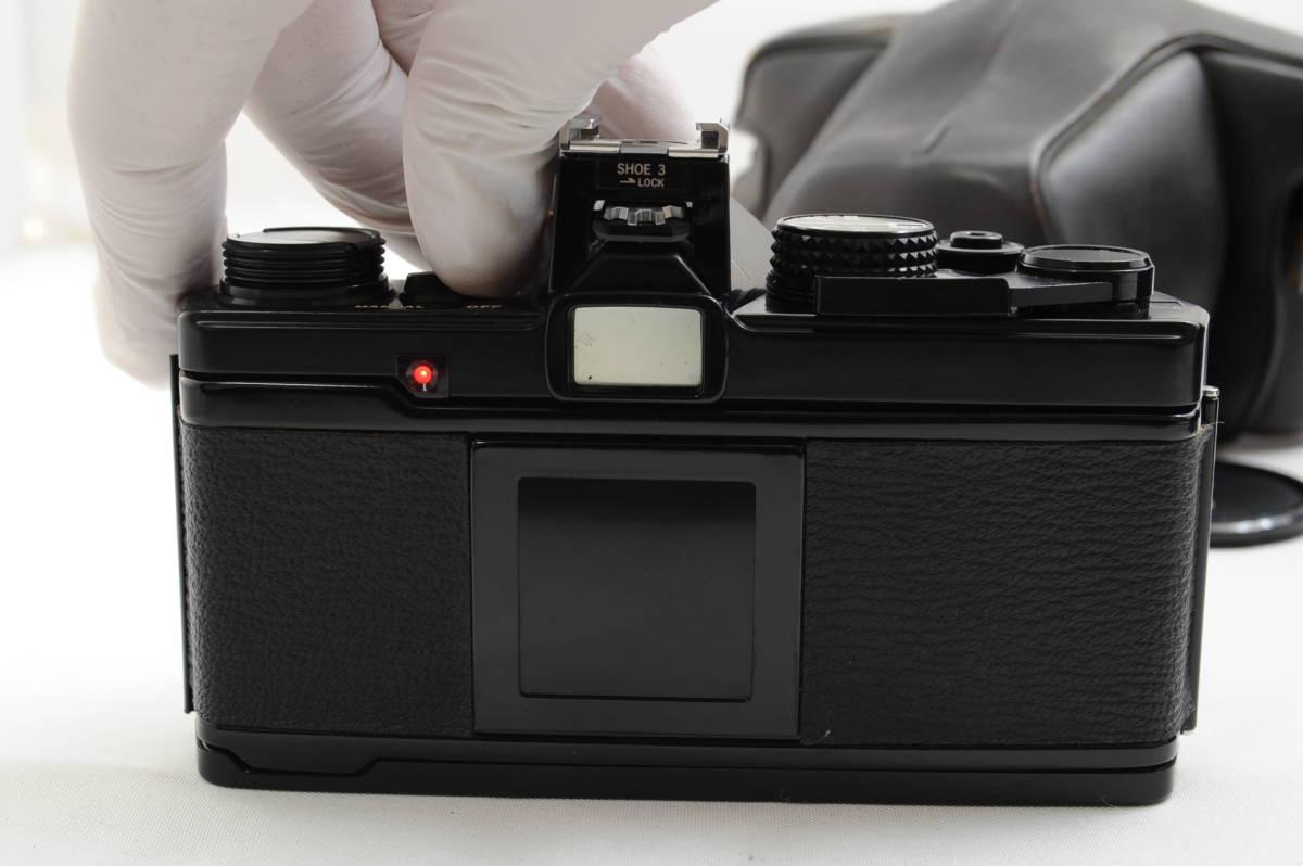 【ecoま】オリンパス OLYMPUS OM-2 50mm F1.8レンズ付 ブラック フィルムカメラ_画像4