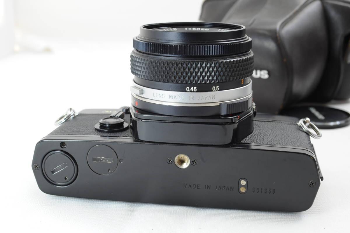 【ecoま】オリンパス OLYMPUS OM-2 50mm F1.8レンズ付 ブラック フィルムカメラ_画像6
