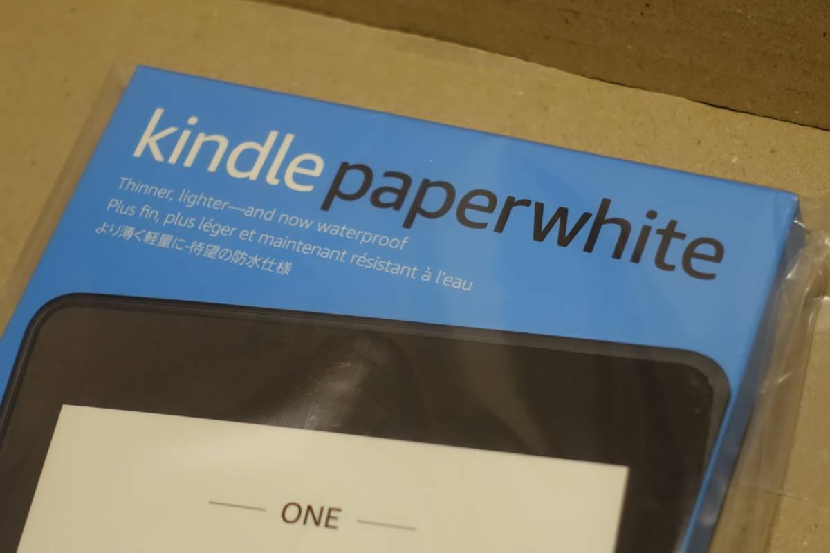 【新品・未使用・送料無料】Kindle Paperwhite 広告つき 電子書籍リーダー 防水機能搭載 Wi-Fi 8GB キンドル アマゾン Amazon_画像3