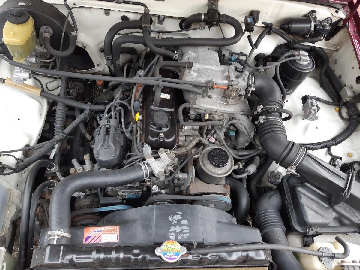 ハイラックス 80 ロング オートマ 機関良好 足周り公認 ミニトラック ナビetc付 4ナンバー NOX適合車 _画像8