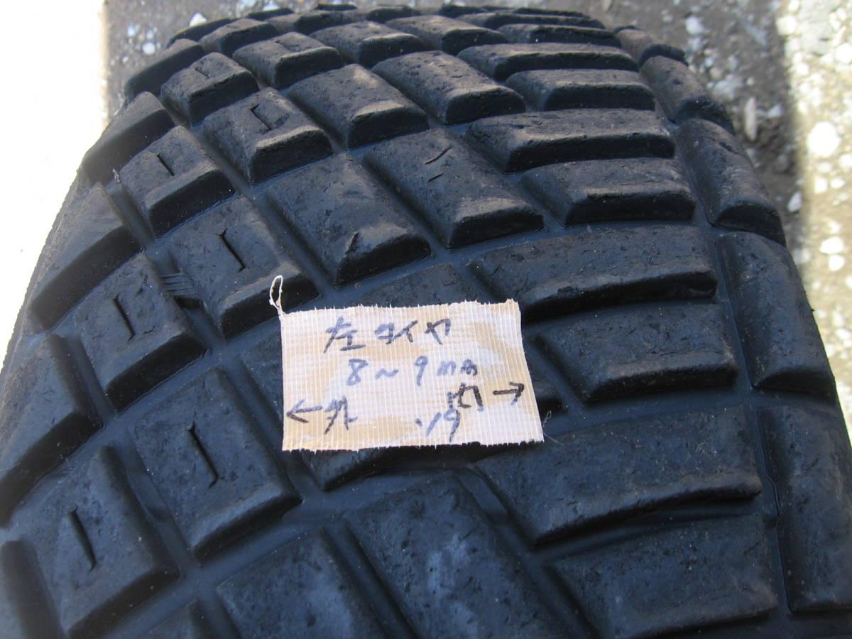 中古タイヤ 205/65R15 '19製 ダンロップDIRREZA 88R DT 4本組_画像3