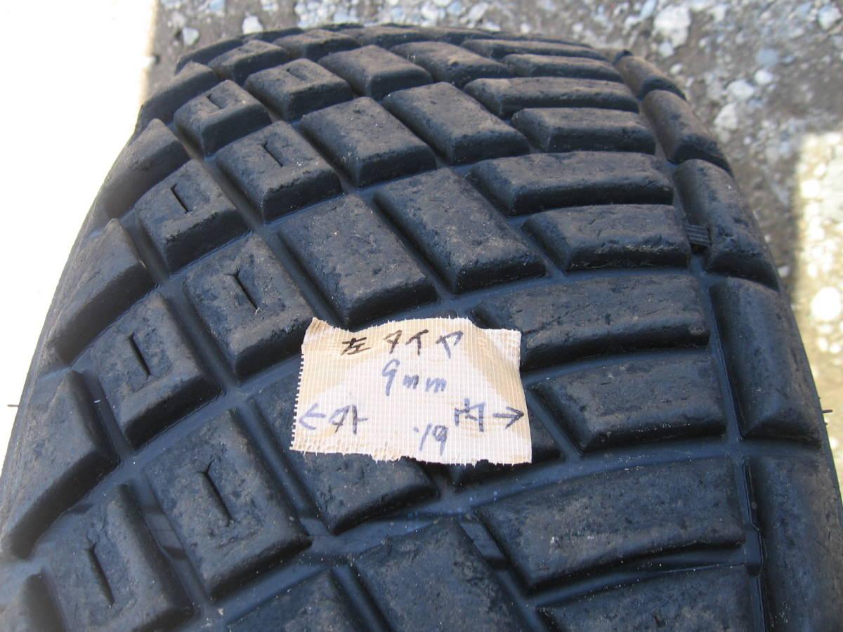 中古タイヤ 205/65R15 '19製 ダンロップDIRREZA 88R DT 4本組_画像4