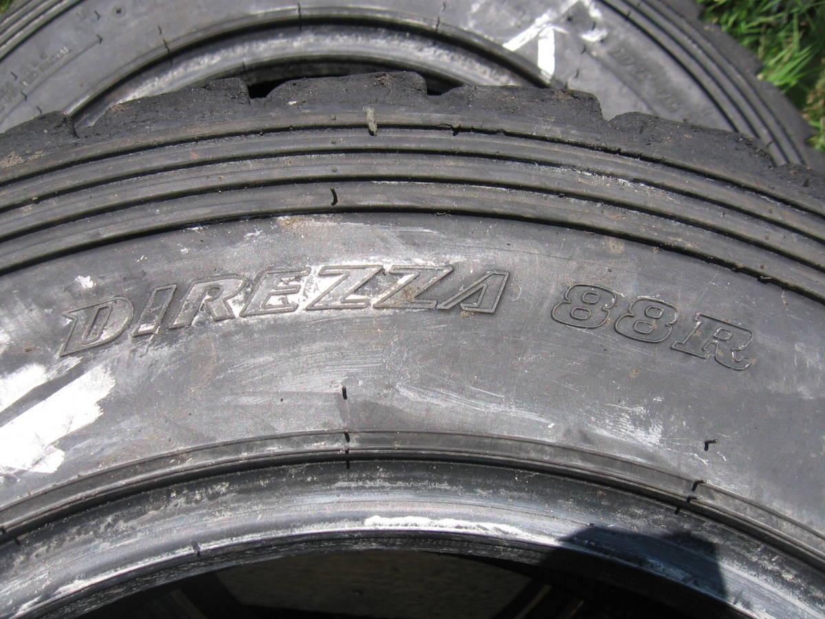 中古タイヤ 205/65R15 '19製 ダンロップDIRREZA 88R DT 4本組_画像7