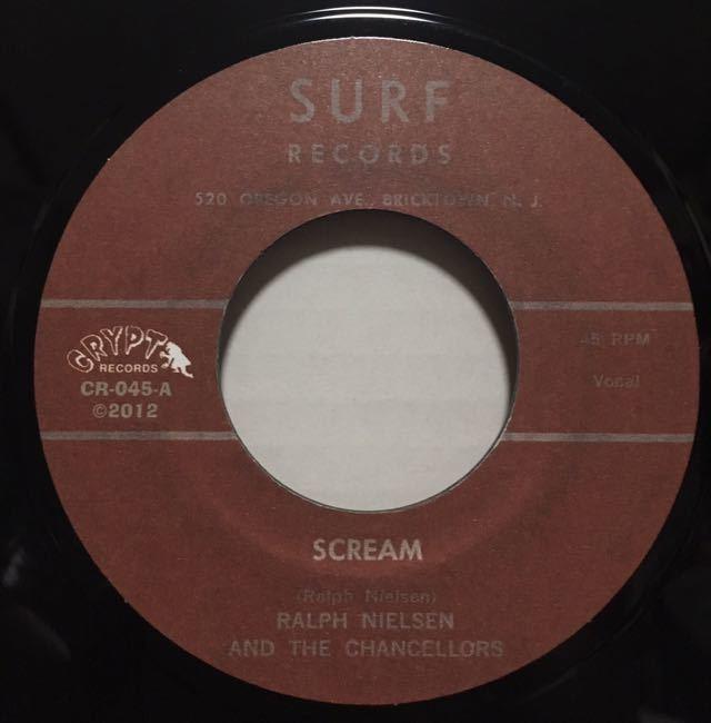 """美品再発3曲入!独盤7""""/Ralph Nielsen & The Chancellors 『Scream』豪華見開きジャケット The 5.6.7.8'Sガレージパンク ロンドン・ナイト_画像5"""