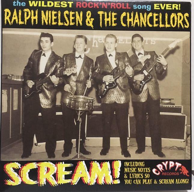 """美品再発3曲入!独盤7""""/Ralph Nielsen & The Chancellors 『Scream』豪華見開きジャケット The 5.6.7.8'Sガレージパンク ロンドン・ナイト_画像1"""