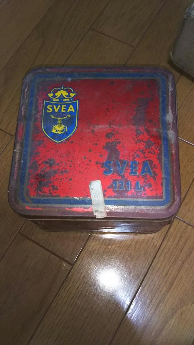 スベア シングル バーナー スウェーデン製 Svea N-121 121L 昭和レトロ アンティーク 山梨 ヴィンテージ ビンテージ_画像9