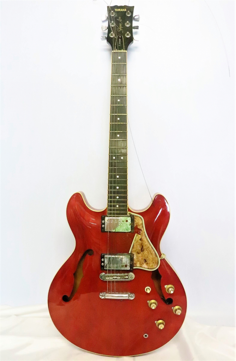 91FBA【弦楽器】YAMAHA ヤマハ SA1000 Super Axe ギター ジャパンビンテージ 音OK