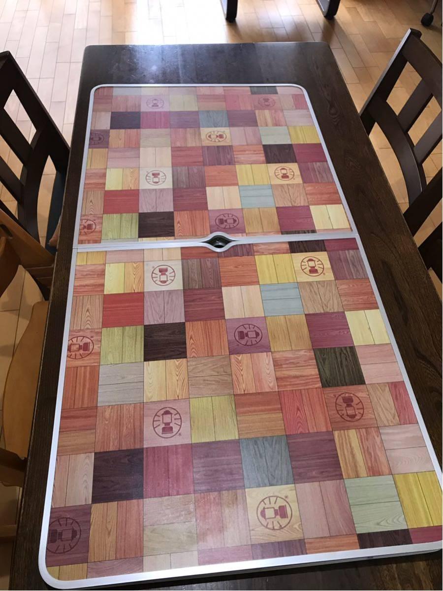 ★コールマン ナチュラル モザイク リビングテーブル 120プラスColeman使用1回のみアウトドア テーブル_画像3